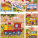 Generic 3D Wooden Puzzle Vehicle Buildin...