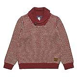 ESPRIT KIDS Jungen Pullover RK18064, Rot (Brick 382), (Herstellergröße: 128)