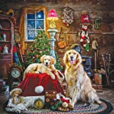 SunsOut 39435 - Hersberger: Santa's kleine Helfer - 1000 Teile Quadratpuzzle