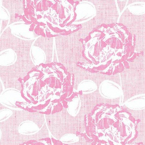 e Dinner stoffähnlich Blüten rosa pink für Hochzeit / Geburtstag / Ostern / Frühling / Weihnachten 40x40cm (Dinner Servietten Rosa)