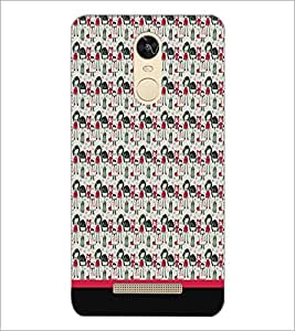 PrintDhaba Pattern D-1955 Back Case Cover for XIAOMI REDMI NOTE 3 PRO (Multi-Coloured)