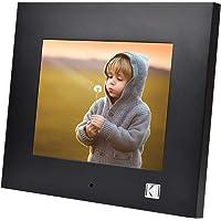 KODAK RDPF-802V Digitaler Fotorahmen 8 Zoll, Hölzern Elektronischer Bilderrahmen, 1280 x 800 IPS, Bild Musik Video…