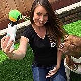 Lakerom die Best Dog Selfies Tennis zieht die Aufmerksamkeit des Dog Selfie Stick lrpet017