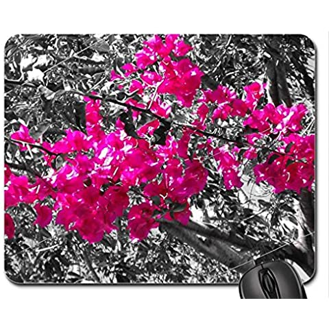 Hot pink Mouse Pad, tappetino per Mouse,