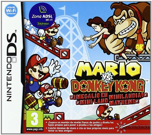 NDS Mario vs Donkey Kong: Miniland Mayhem