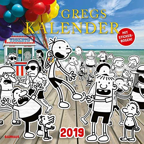 Gregs Kalender 2019 por Jeff Kinney