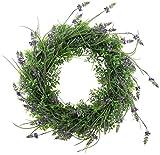 Deko-Kranz Lavendel künstlich