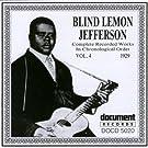 Blind Lemon Vol 4 1929 by Blind Lemon Jefferson (2002-03-26)