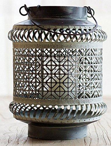 ZXCB Zink Konservatorium Angenehme Luft Kerzenständer Luminara Bronze Kerzenständer,A-16*21.5CM