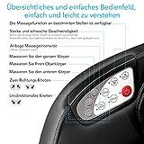 Naipo Shiatsu Ganzkörpermassagegerät – Bluetooth – 3D Surround Sound - 5