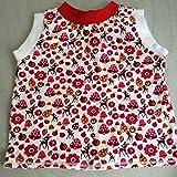 Träger T-Shirt T-Shirt Top Mädchen Reh Waldtiere Babybekleidung Babyoberteil Gr. 92