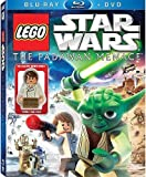 LEGO Star Wars: The Padawan Menace Blu-ray & Standard DVD Combo Pack with Young Han Solo Minifigure by Anthony Daniels