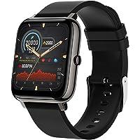 Smartwatch, Zagzog Fitness Tracker 1,4 Zoll Touchscreen Smartwatches mit Pulsmesser Schlafmonitor Schrittzähler IP68 Wasserdicht Sportuhr für Damen Herren Kinder, Android iOS Kompatibel