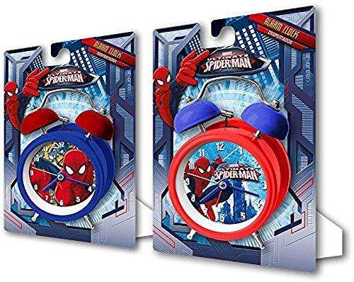 Marvel Spiderman Despertador Reloj de mesa 12cm