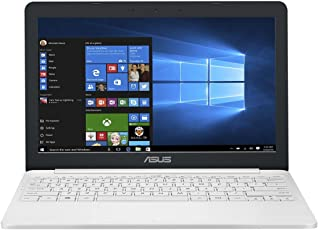 Asus VivoBook E12 E203NA 90NB0EZ1-M03290 29,4 cm (11,6 Zoll HD) Notebook (Intel Celeron N3350, 4GB RAM, 32GB EMMC, Intel HD Graphics, Windows 10) weiß