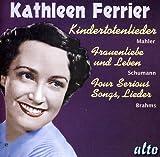 Kathleen Ferrier chante des Lieder de Mahler, Schumann, Brahms.