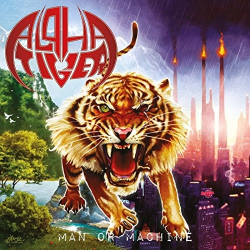 Man or Machine (Re-Issue 2013) By Alpha Tiger (2013-04-22)