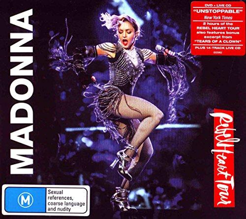 Madonna - Rebel Heart Tour  (+ CD) [2 DVDs]