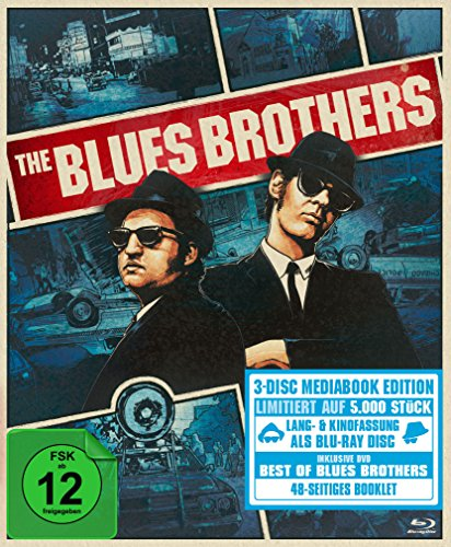 The Blues Brothers - Extended Deluxe Edition (Mediabook) [Blu-ray] [Limited Edition] Extended Cab Box