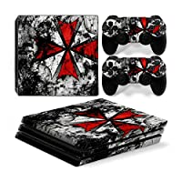 Funky Planet Playstation 4 Pro PS4 PRO Skin Stickers PVC for Console & Pads- Re-design your PS4 Pro