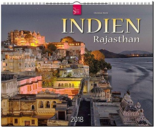 Preisvergleich Produktbild INDIEN - RAJASTHAN: Original Stürtz-Kalender 2018 - Großformat-Kalender 60 x 48 cm