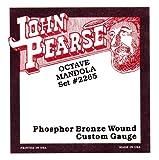 John Pearse 2265M Jeu de cordes pour Mandole tirant Médium Naturel