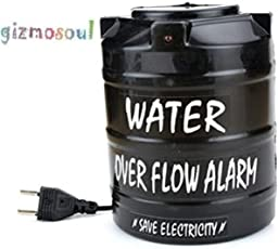 gizmosoul Water Over Flow Tank Alarm with Voice Sound Overflow