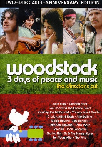 Woodstock: 3 Days of Peace & Music [Reino Unido] [DVD]