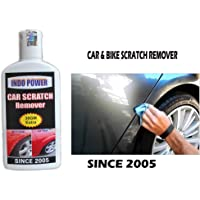 INDOPOWER CAR Scratch Remover 100gm.All Colour Car & Bike Scratch Remover, Advanced Formula Rubbing Compound (Not for…
