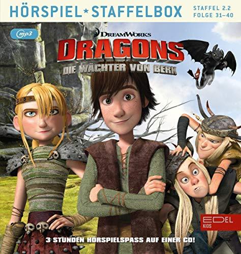Dragons - Die Wächter von Berk Staffelbox 2.2 (Folgen 31 - 40) - Das Original-Hörspiel zur TV-Serie