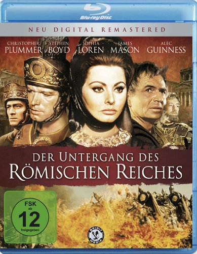 Der Untergang des Römischen Reiches - Digital Remastered [Blu-ray]