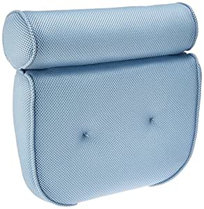 """Ideaworks - Home Spa Bath Pillow, 14""""x 13""""x4"""", Neck & Back Comfort"""