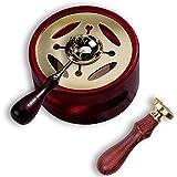 Jxunter Vintage Doint de Cire Chauffe-kit de Fusion Perles de Cire four de Fusion Cuisinière Pot et Cuillère de Fusion pour A