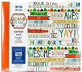 Prima Edizione Grand Piani Premium Paper Pad, Carta, Multicolour, 8x8 Scrapbook Albu