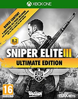 Sniper Elite III - Ultimate Edition (B00SAV0E20) | Amazon price tracker / tracking, Amazon price history charts, Amazon price watches, Amazon price drop alerts