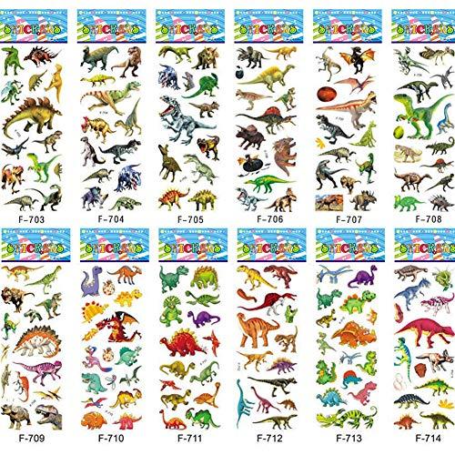 fkleber für Kinder, Jungen, Mädchen, Kleinkinder, Lehrer, Belohnungsaufkleber, Trainingsaufkleber, Dinosaurier-Party, Gastgeschenke & Zubehör,Dinosaurier-Geschenktüten für Lehrer ()