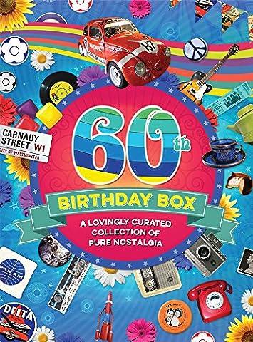 RetroCo 60th Birthday Retro Memorabilia Collection Gift Box - Collage