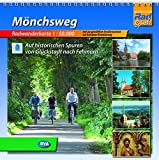 Mönchsweg, Radwanderkarte 1:50.000