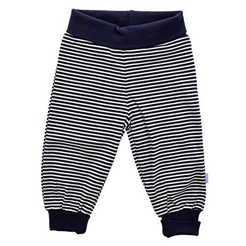 Fixoni Infinity, Unisex Baby Hose, 100% Baumwolle, Dunkelblau, Gr. 80, Pants Peacoat 32537 03-92 (Hose Grau Schlafen Baumwolle)