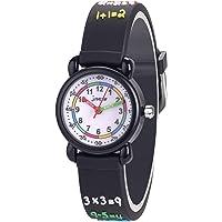 Orologio da polso per bambini, alla moda, al quarzo, per insegnarne l'utilizzo, idea regalo per bambini, impermeabile