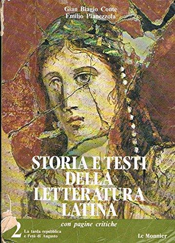 Storia e testi di letteratura latina. Con materiali e strumenti: 2