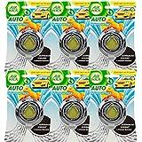 6x Air Wick Car Simple Depot [Citrus] Désodorisant pour voiture de 3ml