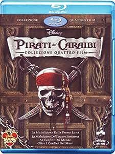 Pirati dei Caraibi - Collezione quattro film(+e-copy)