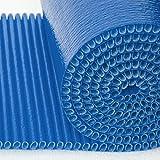 Mondaplen Colour Wrap no es el plástico de burbujas que usaba tu abuela. Exprésate con este rollo de 3,5 metros de plástico protector de envolver flexible de grado profesional para objetos frágiles. Fabricado con Mondaplen, un material ondulado acolchado para una protección excelente superior al plástico de burbujas estándar. 3,5 metros x 45 cm.