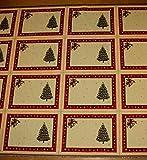 Stoff Weihnachtsstoff Baumwolle Polyester Gobelin