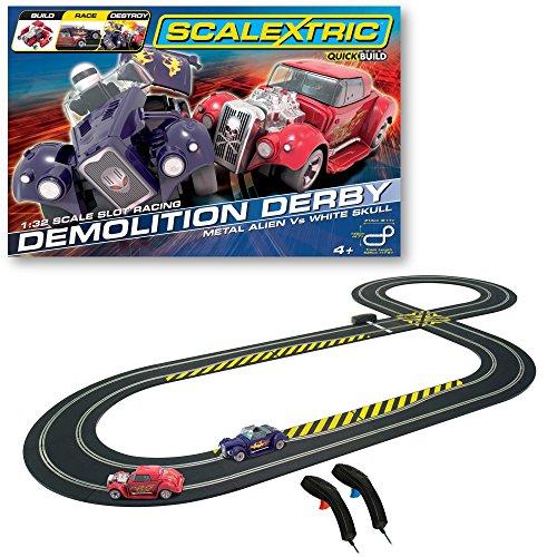 Scalextric - SCA1301P - Radio Commande, Véhicule Miniature - Demolition Derby