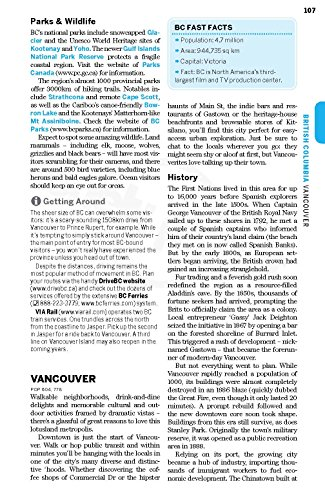 British Columbia & Canadian Rockies (Country Regional Guides) - 6