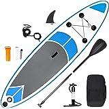 SMOOL Tabla de Surf de Remo Hinchable de 15 cm de Grosor, Juego Completo de Tabla Sup, Bomba de Alta presión, Remo, Mochila,