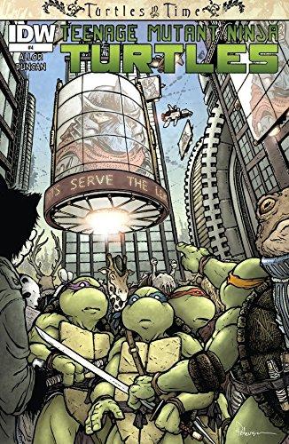 Teenage Mutant Ninja Turtles: Turtles in Time #4 (of 4 ...