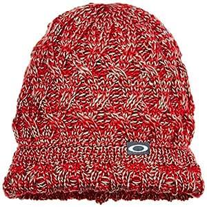 Oakley Basket Weave Beret Hat Heather Grey